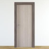 Porta da interno battente One frassino/brown 90 x H 210 cm reversibile