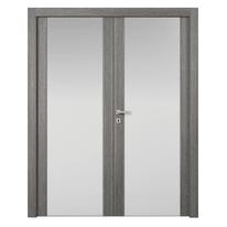 Porta da interno battente Starwood 2 Ante Pietra 180 x H 210 cm dx