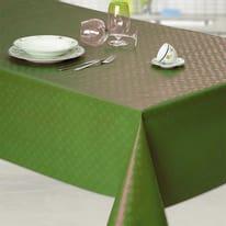 Tovaglia plastificata verde 220 x 120 cm
