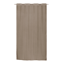 Tenda Stop Cold termica Oscurante occhielli tortora 140 x 280 cm
