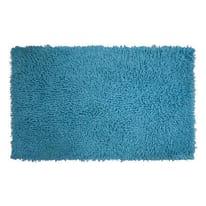 Tappeto bagno Bouclettes azzurro