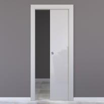 Porta da interno scorrevole Massaua silk 80 x H 210 cm reversibile