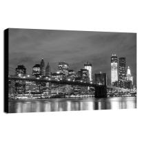 quadro su tela Wow NY 60x90