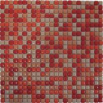 Mosaico Corallo 30 x 30 cm arancione, rosso