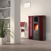 Stufa a Pellet Lisa 8,5 kW bordeaux