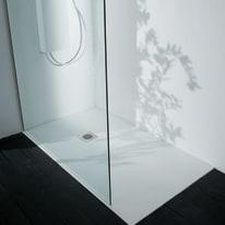 Piatto doccia acrilico Boston 90 x 70 cm bianco