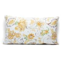 Fodera per cuscino Irina giallo retro tinta unita 30 x 50 cm
