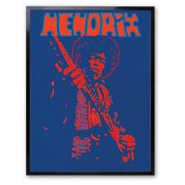 Stampa incorniciata Hendrix 30 x 40 cm