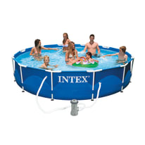Piscina Metal Frame Intex Ø 366 cm