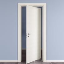 Porta da interno rototraslante Star Bianco Matrix 80 x H 210 cm dx
