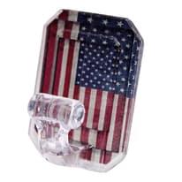 Gancio da parete adesivo America L 60 x H 80 mm