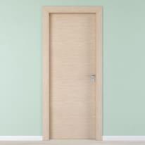 Porta per hotel battente Radisson oak rovere sbiancato 60 x H 210 cm sx