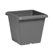Vaso Terrae 35 x 35 cm grigio