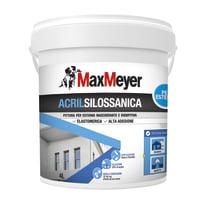 Pittura acrilsilossanica e elastomerica per esterno Max Meyer bianco 4 L
