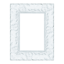 Cornice Sylvia bianco 10 x 15 cm
