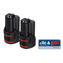 2 batterie Bosch Professional Twin Pack 12V 12 V