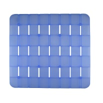 Pedana doccia Frost azzurra 55 x 55 cm