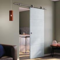 Porta da interno scorrevole Renoir 92,5 x H 211 cm reversibile