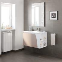 Mobile bagno Soft visone L 80,5 cm