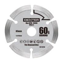 Lama per sega circolare Dexter Ø 85 mm