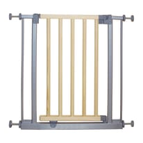 Cancelletto Naxos in metallo e legno L 69 cm