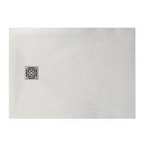 Piatto doccia resina Fusion 100 x 90 cm bianco