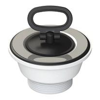 Piletta semplice per lavello ceramica, lavello inox
