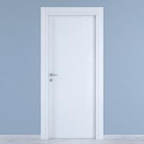 Porta da interno battente Renoir bianco venato 90 x H 210 cm reversibile