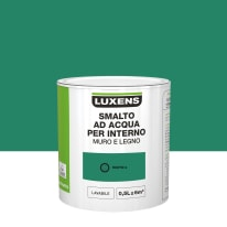 Smalto Luxens all'acqua Verde Esotico 2 satinato 0.5 L