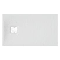 Piatto doccia resina Remix 120 x 70 cm bianco