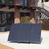 Impianto fotovoltaico portatile Pyppy fai da te 3600 nero 0,48 kW