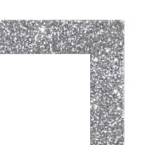 Cornice Brilla argento 30 x 90 cm