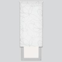 Tenda a rullo Zig zag bianco 120 x 190 cm