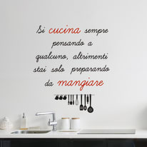 Words Up L Si cucina sempre
