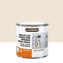 Smalto manounica Luxens all'acqua Bianco Paper 2 brillante 0.5 L