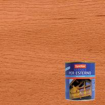 Vernice per esterno ad acqua Syntilor ciliegio satinato 0,25 L