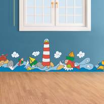 Roll Decor Sticker Sea