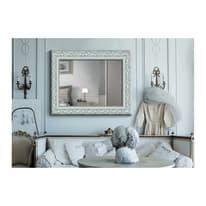 specchio da parete rettangolare Asia bianco 100 x 140 cm