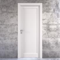 Porta da interno battente Aludra bianco 70 x H 210 cm dx