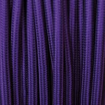 Cavo tessile viola
