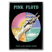 Stampa incorniciata Pink Floyd 60 x 90 cm