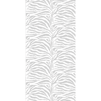 Tenda doccia Zebra bianca L 120 x H 200 cm