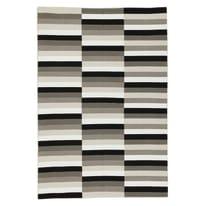 Tappeto Playfull bianco, nero 141 x 200 cm