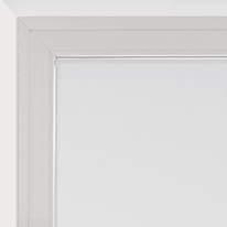 Tendina a vetro per portafinestra Leo bianco 70 x 210 cm