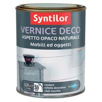 Vernice Syntilor Deco mobili e oggetti Nera 250 ml