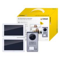 Kit Videocitofonico bifamiliare Elvox Vimar K40916