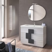 Specchio Sasso 90 x 78 cm
