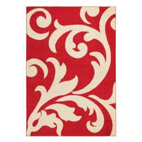 Tappeto Palazzo avorio, rosso 160 x 230 cm