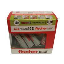 10 tasselli Duopower 10 ø 10 x 60  mm con vite