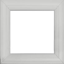 Cornice Louise bianco 40 x 40 cm